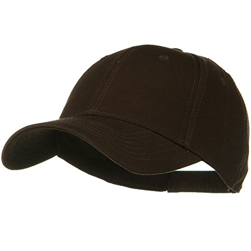 Otto Caps Superior Cotton Twill Low Profile Strap Cap (One Size, Dark Brown)