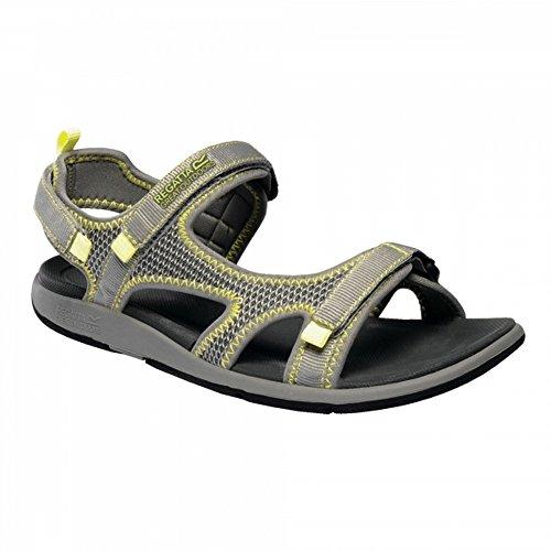 Steel Regatta Lady Ladies Flo Ad Light Black Womens Sandals qqP8wOC