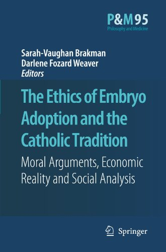 The Ethics of Embryo Adoption and the Catholic Tradition: Moral Arguments, Economic Reality and Social Analysis (Philoso
