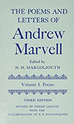 The Poems and Letters of Andrew Marvell: Volume 1: Poems; Volume 2: Letters (Oxford English Texts)