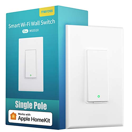 meross Smart Light Switch Supports Apple