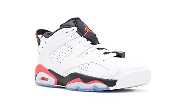 finest selection 17d15 bc570 Amazon.com   NIKE Air Jordan 6 Retro Low 304401-123 White Infrared 23 Black  Men s Shoes (Size 14)   Basketball