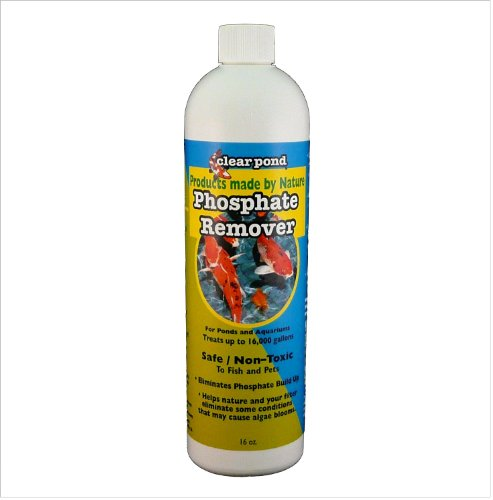 Clear Pond Phosphate Remover, 16-Ounce
