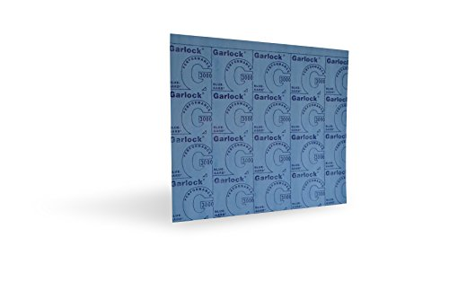 Garlock Style 3000 Blue-Gard Compressed Non-Asbestos Sheet Gasketing 1/16-inch x 20-inch x 20-inch by GARLOCK