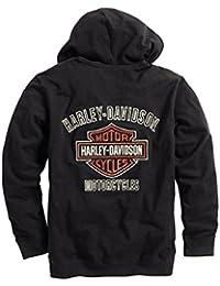 Men's Bar & Shield Logo Hoodie - 99003-16VM