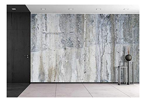 wall26 - Grunge Concrete Wall - Removable Wall Mural | Self-adhesive Large Wallpaper - 100x144 inches by wall26 (Image #6)