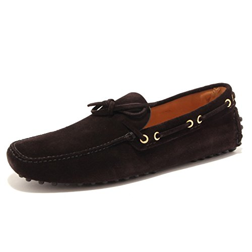 92986 mocassino uomo CAR SHOE ebano scarpa uomo loafer shoe men Ebano