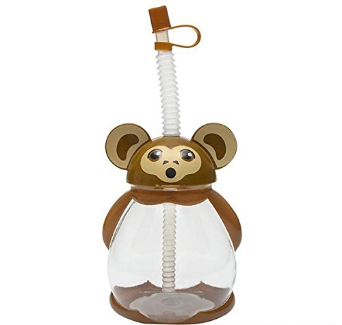 16oz MONKEY SIPPY CUP 50/11, Case of 150 by DollarItemDirect