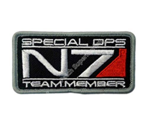 Cosplay Application New Mass Effect Spec Ops N7 Applique Patch J&C Family (Spec Ops Costumes)