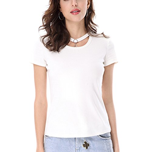 Keno camiseta mujer - 95% algodón - camiseta casual - M