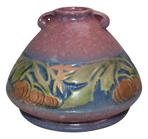 Roseville Pottery Baneda Pink Ceramic Vase 603-4