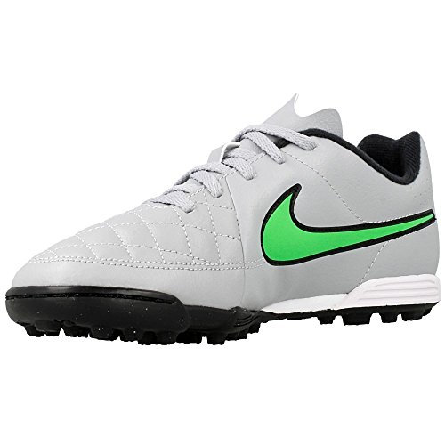 Nike JR Tiempo Rio II TF Kinder Fussballschuhe green strike-green strike-black-black - 36,5