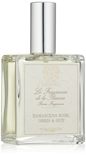 Rose Orris (Antica Farmacista Damascena Rose, Orris and Oud Room and Linen Spray, 3.4 fl. oz.)