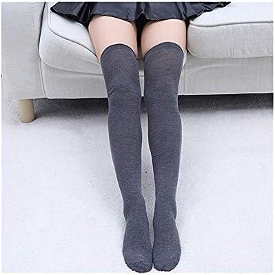 YUNGYE Calcetines de algodón Sexy 1 par de Calcetines de Mujer ...