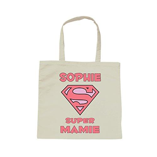 Super Mamie Le Bandoulière De Yonacrea Personnalisable Avec Prénom Choix Votre Blanc Sac wqRWBatF