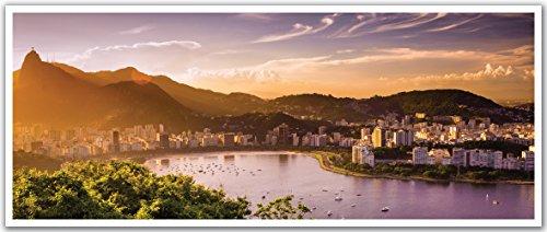 JP London PAN5029 uStrip Copacabana Rio De JaneiroBeach High Resolution Peel Stick Removable Wallpaper Sticker Mural, 48