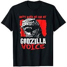 Don't Make Me Use My Godzilla-Voice T-Shirt