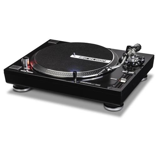 Reloop RP-7000 Quartz Driven DJ Turntable with Upper-Torque Direct Drive, Black by Reloop