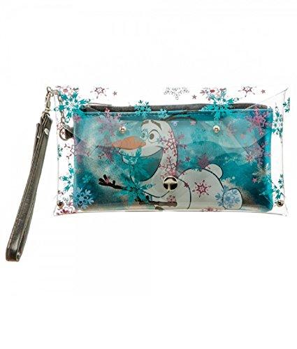 Frozen Envelope Wallet Wristlet Inside