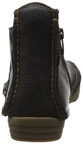Donna Field Nero Stivaletti Nf85 Black Grain Naturalista Soft El Rice Uq1w10