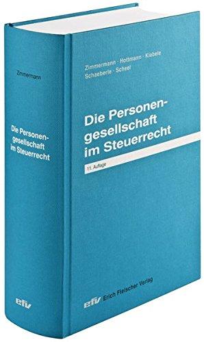 Die Personengesellschaft Im Steuerrecht  Praxis Ratgeber. Sonderbände