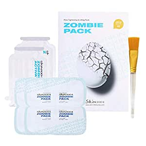 Skin1004 Zombie Pack (Set Of 8 Facial Treatments) - Special Facial Mask For Sebum Controlling, Pore-Tightening, Hydrating, And Rejuvenating Effect (1 Box (8 Masks))