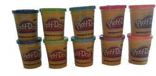 Best Play-doh 10 Pack Assorted Colors Molding Clay