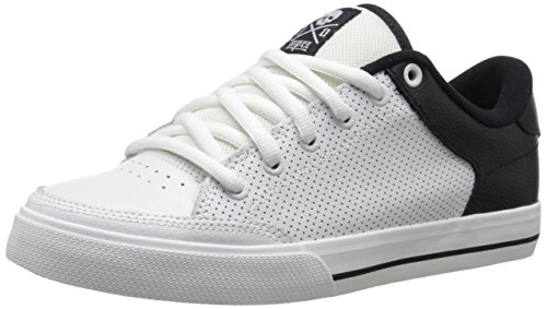 (C1RCA Men's AL50 SE-M Skateboard Shoe, White/Black, 12 M US)