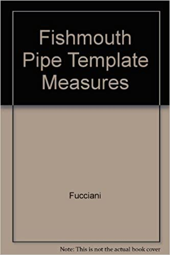 Fishmouth Pipe Template Measures 16 Ordinates 1 To 42