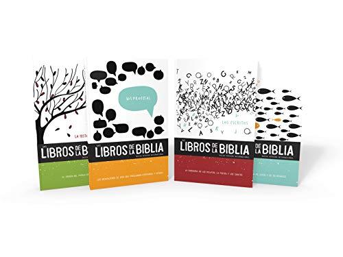 Experiencia Bíblica En Comunidad: Los Libros de la Biblia NVI (4 Volúmenes )