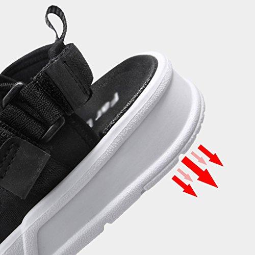 sandales Noir de respirantes Noir taille PJ d'été UK6 Couleur pour CN40 EU39 5 sport hommes Sandales Sandales IwHqvTR