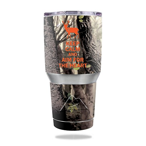 MightySkins Protective Vinyl Skin Decal for Ozark Trail 30 oz Tumbler wrap cover sticker skins Deer Hunter