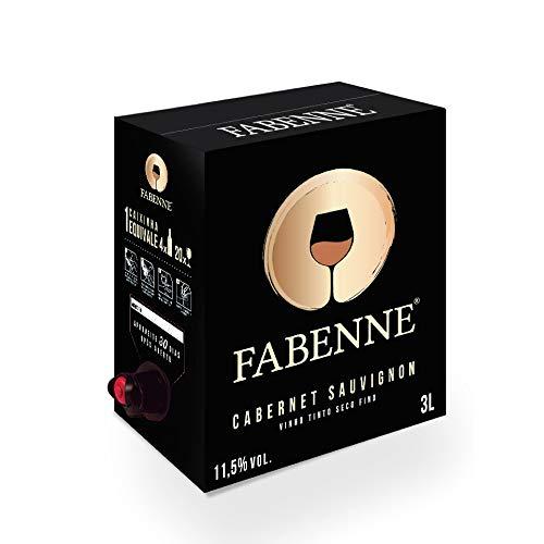 Fabenne Vinho Tinto Cabernet Sauvignon - Bag-in-Box 3 Litros cada