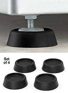 Furniture Friendly White Rubber Pads Machine Bottom Feet Pads Instrument Case Audio Rubber Feet Bumpers Bushings Furniture Rubber Pads Cushion