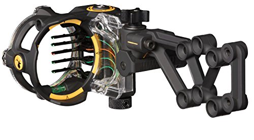 Trophy Ridge React HS 5 Pin .019 Bow Sight Blac w/ Sight Lig