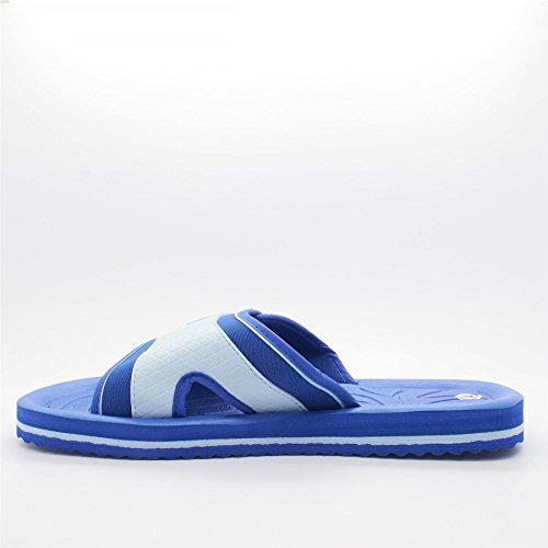 London Footwear - talón abierto hombre Azul - azul