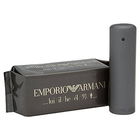 Emporiŏ Armȃni He Cologne for Men 3.4 fl oz Eau De Toilette Spray (Emporio Armani Eau De Toilette)