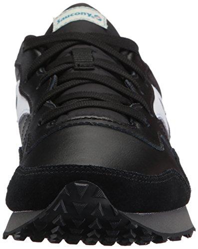 Saucony Originelen Mens Dxn Trainer Cl Essentieel Sneaker Zwart / Wit