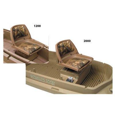 Beavertail Stealth 1200 Seat Box, Marsh Brown