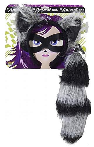 Raccoon Ears And Tail