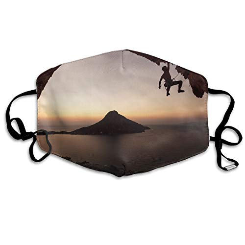 Sam-Uncle Anti Dust Face Mouth Cover Mask Seaside Climbing Anti Pollution Breath Healthy Mask
