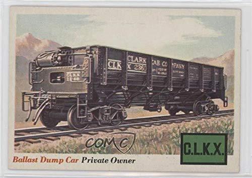 Ballast Dump Car (Trading Card) 1955 Topps Rails and Sails - [Base] #10