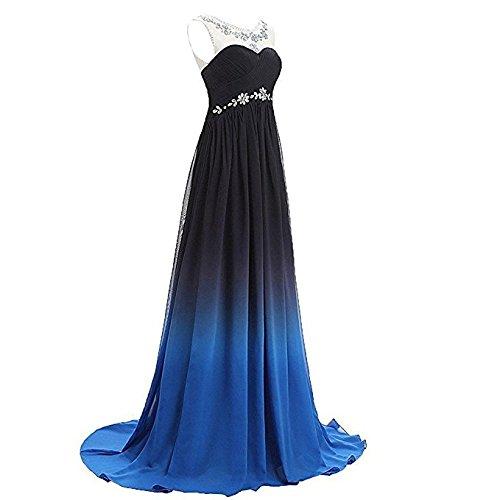 Bride A Lang M Cocktailkleider Damen Mehrfarbig Festkleider Linie Chiffon Gorgeous 2017 Elegant Abendkleider Ballkleider dUxqwdt0O