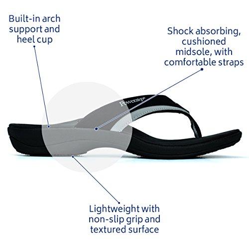 Brown Flip Flop Fusion Powerstep Men's Sandals XaqxwW70v