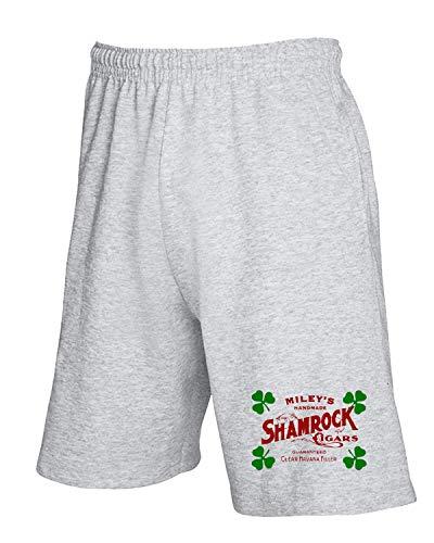 shirtshock Tuta T Tir0178 Pantaloncini Shamrock Grigio Cigar 8vTw6R