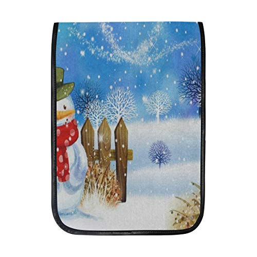 Ipad Pro 12-12.9 inch Sleeve Case Bag for Surface Pro Christmas Snowman Love Heart Brich Tree Mac Protective Carrying Cover Handbag for 11