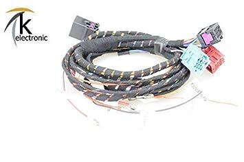 k-electronic Audi Q5 8R Schwenkbare Remolque Sin Preparación/AHK Juego de Cables: Amazon.es: Coche y moto