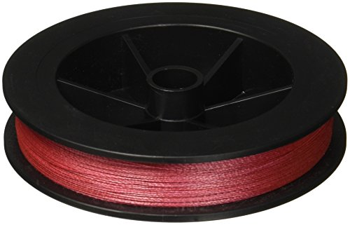 - Power Pro Spectra Fiber Braided Fishing Line, Vermilion Red, 300YD/30LB