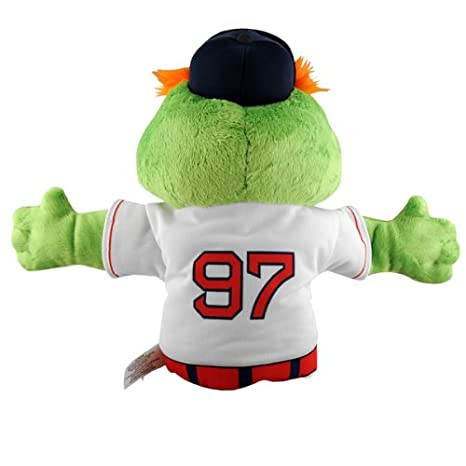 Amazon Com Mlb Boston Red Sox Wally Green Monster Hand Puppet