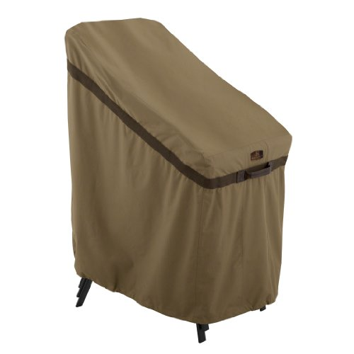 Classic Accessories Hickory Heavy Duty Stackable Patio Chair Cover - Durable and Water Resistant Patio Set Cover (55-207-012401-EC) by Classic Accessories